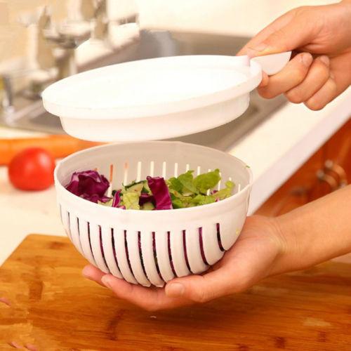 הכלי המושלם לחיתוך סלט תוך 60 שניות פרקטי ופשוט לניקוי משלוח חינם