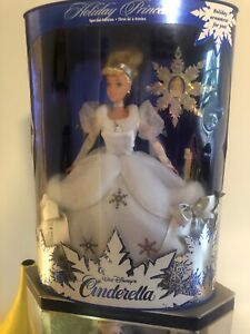 Walt-Disney-Cinderella-Barbie-Collectible-Special-Edition-First-In-A-Series-New