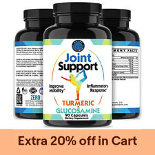 Joint Support Turmeric and Glucosamine Increases Joint Mobility