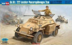 Hobbyboss-Model-Kit-1-35-82442-WW-II-German-Sd-Kfz-222-Leichter-Panzerspahwage-A