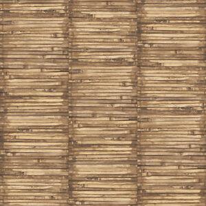 G56386 Global Verschmelzung Braun Beige Bambus Galerie Tapete Ebay
