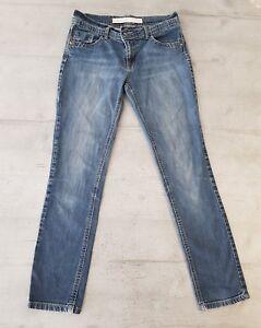 Glorieux Haut Femme Next Jean Skinny En Bleu Taille 10 Régulier. Emballage De Marque NomméE