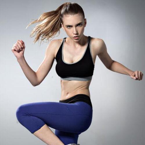 Sports Women Padded Seamless Bra Gym Yoga Fitness Top Tank Workout Training Vest