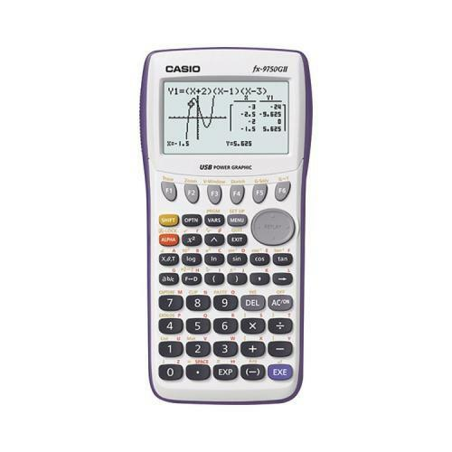 Casio FX-9750GII-WE Graphing Calculator - White