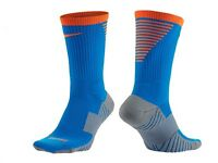 Nike Dry Squad Performance Cushioned Crew Soccer Socks Style Sx5345-406 M (6-8)