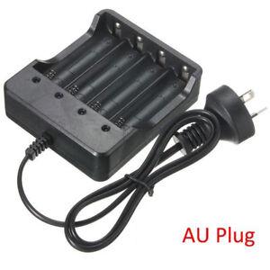 4-2V-Smart-Fast-Battery-charger-AU-For-18650-Rechageable-3-7V-Li-Ion-Batteries