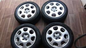 Original-Audi-b6-a4-jantes-alu-16-034-7x16-et-45-205-55r16-91-W-5-5-mm