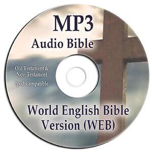 Details about NEW World English Version MP3 Audio  Bible-CD-Scripture-Faith-Jesus-Christian-God