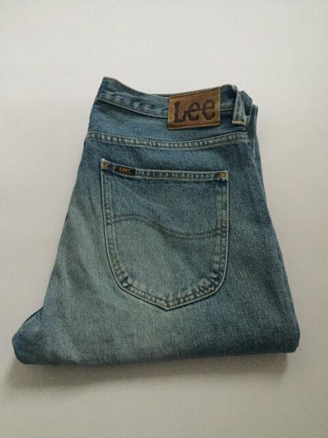 LEE ROSCOE Men's Jeans Blue W36 L34 Straight Cotton Mint Condition