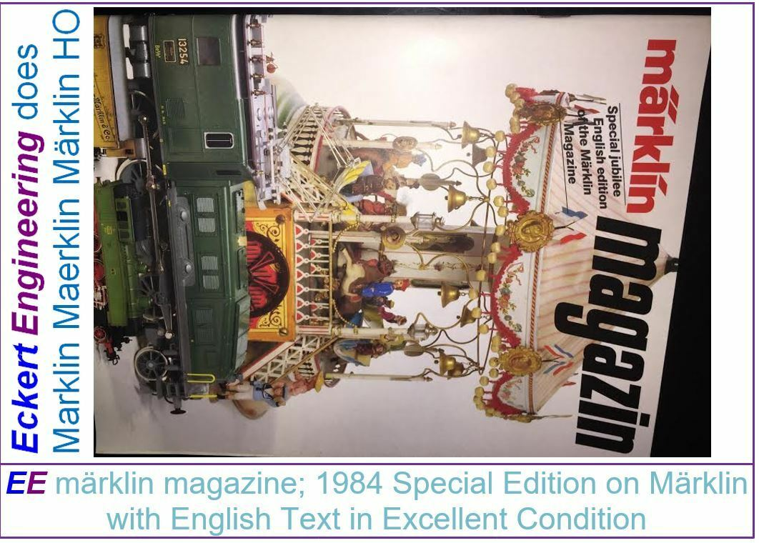 EE märklin magazine Special Jubilee English 1984 in Excellent Condition