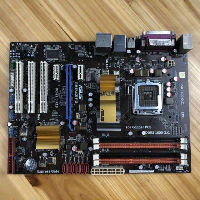 ASUS P5P43TD, LGA775 Socket, Intel (90-MIBA20-G0EAY00Z) Motherboard
