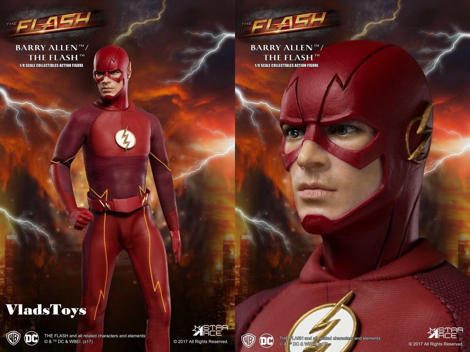 gran selección y entrega rápida Estrella Estrella Estrella Ace 1 8 Grant Gustin DC TV Real Master Series Barry Allen el Flash SA8003  marca en liquidación de venta