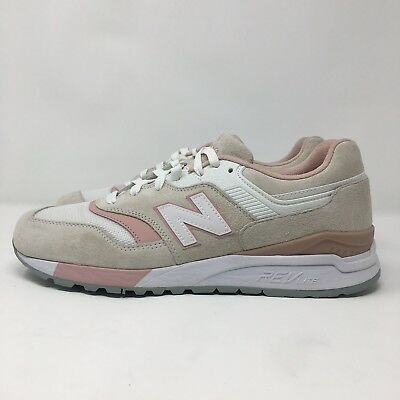 most popular website for discount authentic quality New Balance 997.5 Ivory/Pink ML997HAJ Men's Size 9.5 Sneakers Sale Shoes  RevLite | eBay