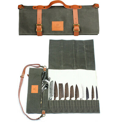 Chef Knife Bag Portable Canvas Knives