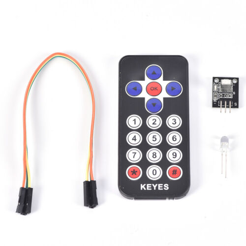 1Pc Portable Infrared IR Wireless Remote Control Module Kits for Arduino T/_sh