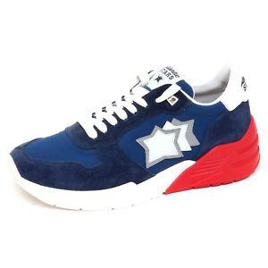 9cf457d3f8 Dettagli su F3020 sneaker uomo blu ATLANTIC STARS MARS scarpe shoe man