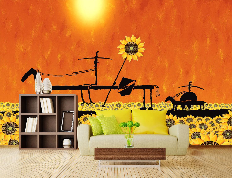 3D Schöner Garten 567 Fototapeten Wandbild Fototapete Bild Tapete Familie Kinder