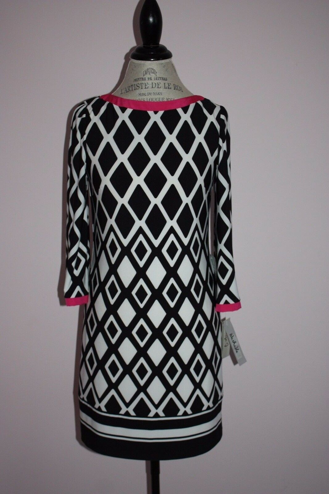 NWT damen Eliza J Multi-Farbe Jersey Shift Dress Größe 6