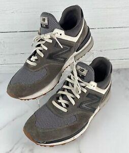 New-Balance-Gray-Running-Active-Shoes-574-Men-s-12-US