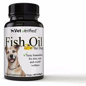 Vet verified fish oil for all dogs omega 3 epa dha for Fish oil for dog allergies