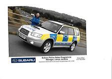 "SUBARU POLICE CAR ORIGINAL PRESS PHOTO ""Brochure related"""
