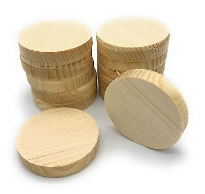Querholzplättchen Fichte 35 mm Durchmesser Konusplättchen 15 stk Holzplättchen