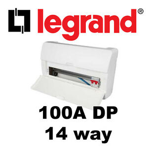 s l300 14 way insulated fuse box with 100a dp main switch consumer unit legrand fuse box at gsmx.co