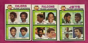 1979-TOPPS-OILERS-JETS-FALCONS-UNMARKED-TEAM-CHECKLIST-INV-A6150