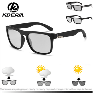 KDEAM Men/'s Polarized Sport Sunglasses Outdoor Driving Fishing Square Glasses