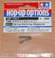 Tamiya 54311 TA06 Cross Shaft For Gear Differenatial Unit (TRF417/TRF418/DB01RR)