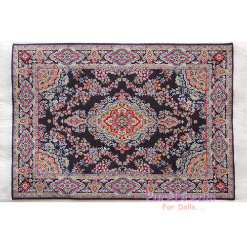 "1//12 Dollhouse Miniature Carpet Rug 6/""x10/"" #OR202"