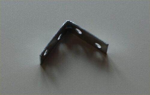 "Corner Brace Bracke 38mm 1 1//2 /"" Zinc Plated Angle Woodwork Hand Rail Repair"