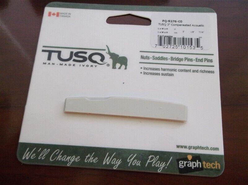 "Graph Tech PQ-9276-C0 Tusq 3/"" Compensated Acoustic Saddle"