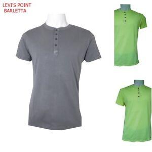 T Shirt Uomo In Cotone Maglia Maglietta A Manica Corta Serafino M L Xl Xxl Xxxl