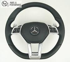LEDER SCHWARZ Lenkrad für Mercedes-Benz AMG W212 W204 R172 R231 W176 C197