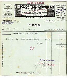 D1 Litho Rechnung Molkerei Schnega Prov Hannover 1930 !