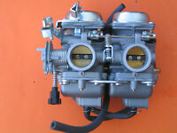 Carburetor Dual Carb Assy Set Chamber For Honda Rebel Ca Cmx 250 C Cmx250 Ca250