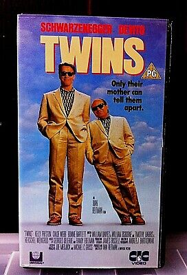 Arnold Schwarzenegger Rare Vhs Video Tape Twins Movie Action Film Danny Devito Ebay