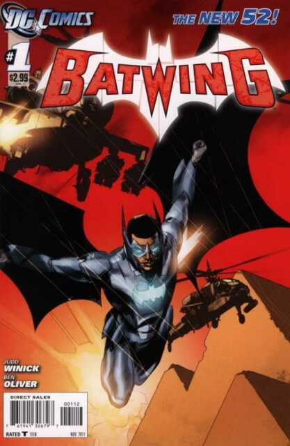 Batwing (2011) #1 VF- (7.5)  2nd print variant THE NEW 52