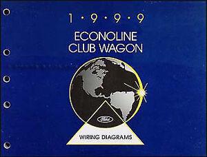 1999 Ford Econoline Wiring Diagram Manual E150 E250 E350 E450 550 Van Club  Wagon | eBay | Wiring Diagram For 1999 Ford Econoline Van |  | eBay