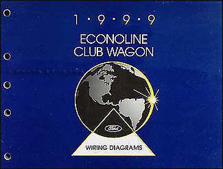 1999 Ford Econoline Wiring Diagram Manual E150 E250 E350 ...