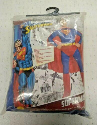 RUBIE/'S Officiel Adulte/'S Superman Deluxe Costume UK Medium Homme Entièrement neuf sous emballage