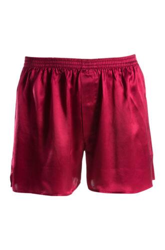100 pour satin XL Boxer Superior 8 rouge Naturals homme soie BtAw6d6xan