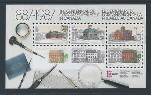 Canada-Capex-87-1125A-Souvenir-Sheet-Mint-Never-Hinged-Free-Shipping