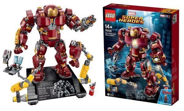Lego Hulkbuster Ultron Edition (Sealed) (Very RARE) with Mini Iron Man