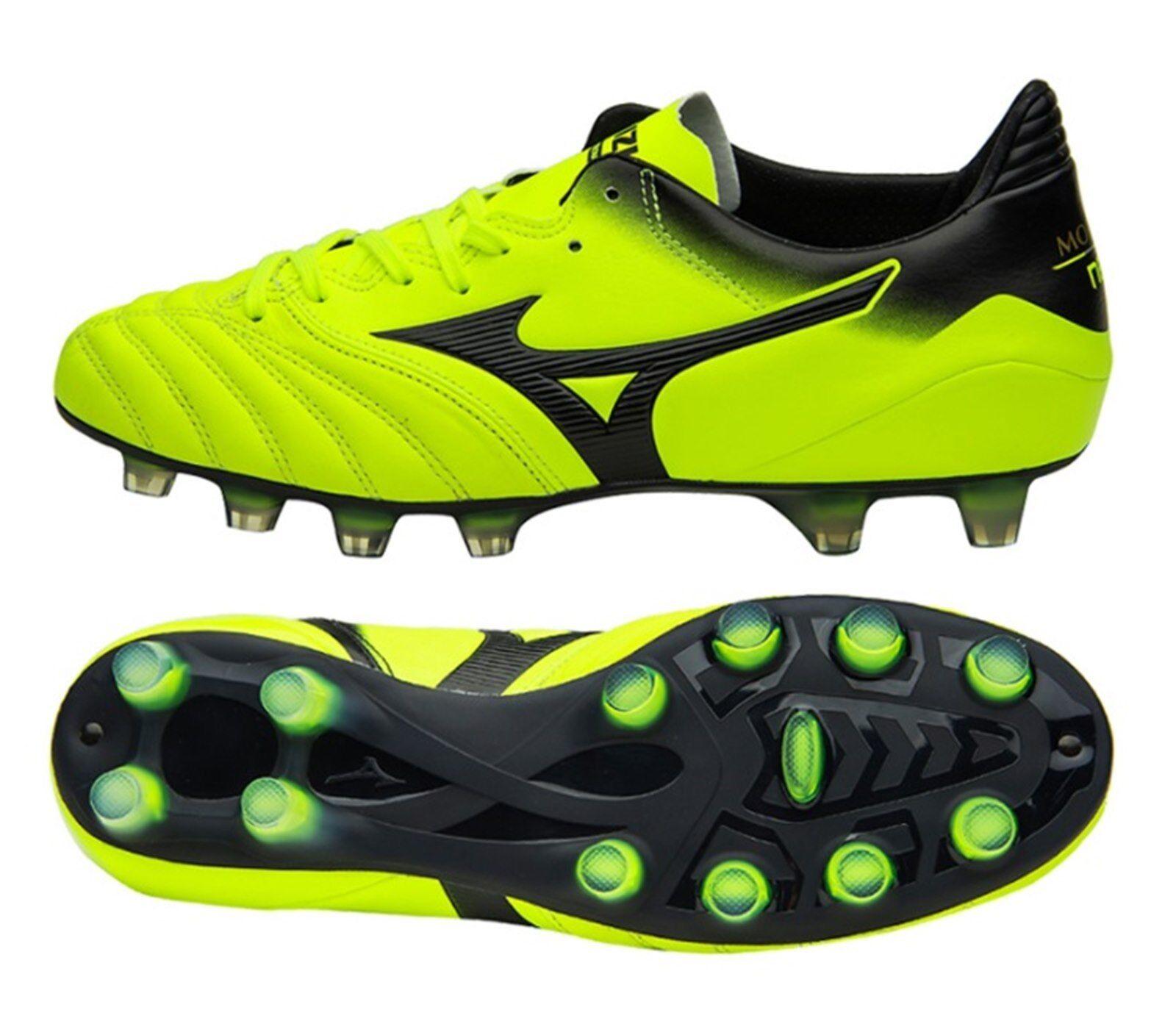 Mizuno Men Morelia Neo KL MD Cleats Soccer Football Volt Schuhes Spike P1GA185809