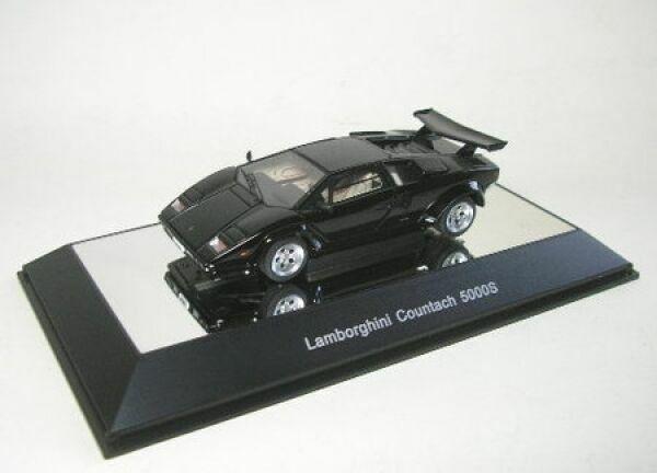 AUTOART 54532 LAMBORGHINI COUNTACH 5000 S BLACK 1:43 SCALE