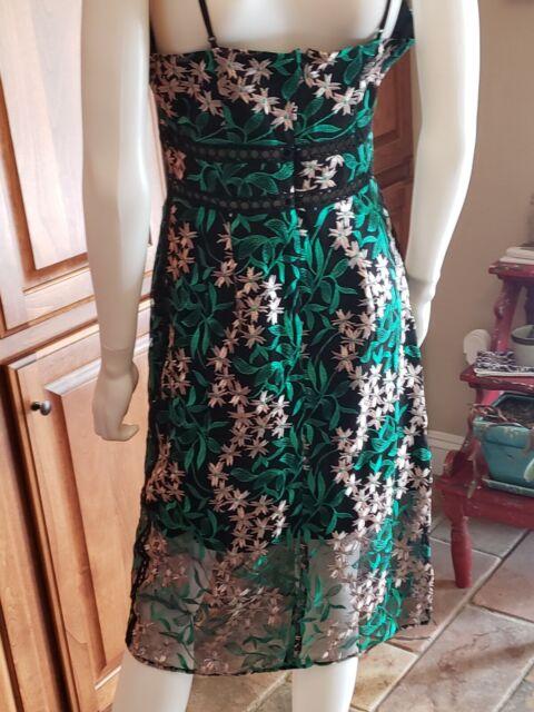 Sam Edelman Womens Black Lace Strapless Cocktail Party Dress 2 BHFO 7691