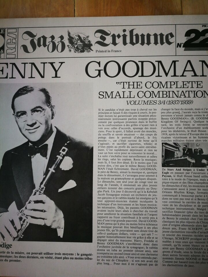 LP, Count Basie, Benny goodman