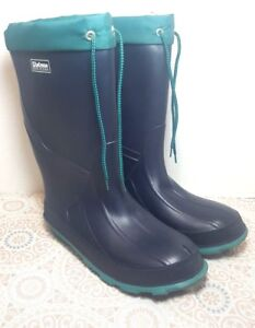 5b4fe58e166 Details about LaCrosse Burly Foam Insulated Men's Rubber boots Blue/ Teal  Sz. 7.